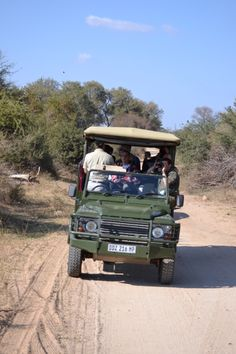 Zuid-Afrika - Safari - Jeep
