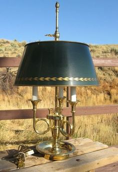 Baldwin brass lamps are a stylish addition to the living-room. Candlestick Lamps, Brass Table Lamps, Brass Lamp, Candelabra Bulbs, Candlesticks, Desk Lamp, Hurricane Lamps, Cool Lighting, Lamp Light