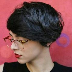 long textured pixie