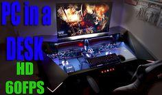 ULTIMATE Gaming PC in a DESK 4K Battlestation