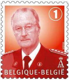Postzegel België Koning Albert II