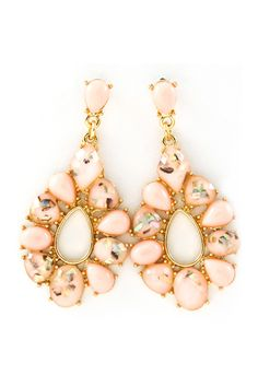 Aspen Mother of Pearl Sadie Earrings - neutral enough to match lots of things