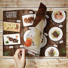menu Restaurant Branding, Logo Branding, Branding Design, Food Graphic Design, Food Menu Design, Spiced Rice, Menu Flyer, Coffee Menu, Coffee Design