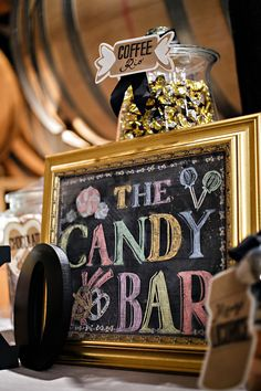 The Candy Bar - San Francisco Winery at Treasure Island Wedding from Augie Chang Photography