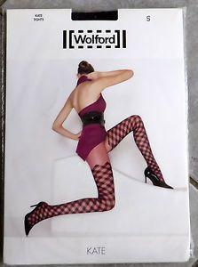 a genial da nuevo y emb orig wolford kate medias black black talla s np