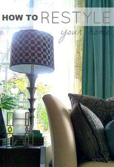 Tips & Tricks for your Seasonal Restyle by Lynda Quintero-Davids @FOCALPOINT http://nyclq-focalpoint.blogspot.com/p/seasonal-decor.html #Seasonal #HomeDecor #Decorating #ReStyle #DIY