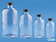 Bottles for storing herbal tinctures, herbal syrup, herbal cordials and jars for canning and natural body care  http://www.uline.com/BL_8178/Boston-Round-Glass-Jars