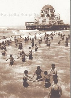 Ostia - Stabilimento Roma Old City, Roman Empire, Vintage Photography, Verona, Old Photos, Places To See, Rome, The Past, History