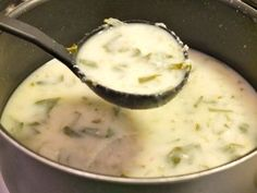 Dill Pickle Soup - 3 Fat Chicks on a Diet Weight Loss Community Soups and Stews Phase 1  I would do 4 servings at around 100 cals. Not sure about the egg.