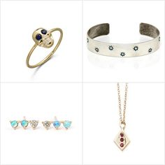 From delicate necklaces to cool cuffs, these 12 pieces highlight the gorgeous gems that fall under each star sign. So whether you're shopping for yourself or you're in need of some gift inspiration, give these sparkling stunners a shot.