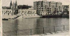 Ballluta Bay in approximately 1930.