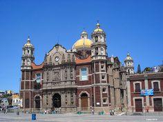 Old Basilica de Guadalupe, Mexico City, Mexico