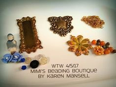 WTW 4/5/17 Mimi's Beading Boutique  by Karen Mansell  Same picture as last week.  Hope to finish up on my little Pauline necklace this week.