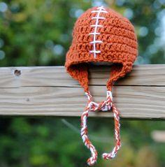 Longhorn football hat for a wee Texas fan!