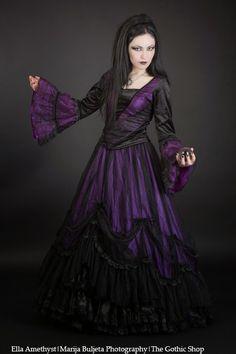 b6d1b3c5a4531 Ella Amethyst - Marija Buljeta Photography - Purple Belladonna by Sinister