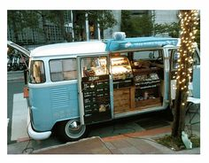 ... a bakery on wheels! I may have just discovered the main reason why i should get a drivers licence! So i can bake yummy things and driv...