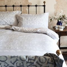 White 'Love Kisses' bedding set - Home - Debenhams.com