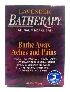 Queen Helene Batherapy 3 oz. Lavender Boxed (3-Pack) with Free Nail File by Queen Helene. $10.49