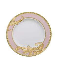The Home Collection - Versace Rosenthal Dinnerware / Byzantine Dreams Dinner Plate $125.00