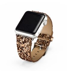 - Perfect companion with metal clasp for Apple Watch & Sport & Edition version - Premium 3D Bling Shing Leather mixed with fashion, nobility, durability and elegance; - Personalize your iWatch with th