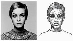 portrait geometric - Google zoeken