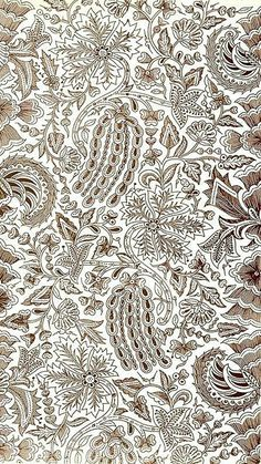 Batik Pattern, Abstract Pattern, Pattern Art, Fabric Patterns, Flower Patterns, Print Patterns, Fabric Design, Pattern Design, Batik Art