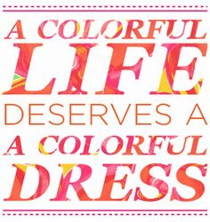 A Colorful Life Deserves A Colorful Dress: Lilly Pulitzer