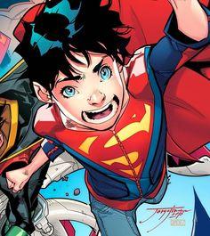 (2) Jorge Jimenez - Y diseñar el nuevo aspecto del hijo de Superman.....