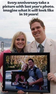 Cute anniversary idea...