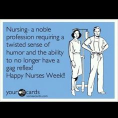 To all my nursing friends....I get ya!!! Much love for nurses week !!!