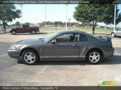 2003 ford mustang v6 | 2003 Ford Mustang V6 Coupe in Dark Shadow Grey Metallic. Click to see ...