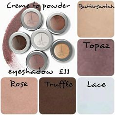 Creme to powder eye shadow - £11 http://www.actiderm.co.uk/me/angela-jones
