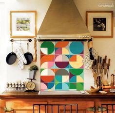 Adesivos para cobrir os azulejos
