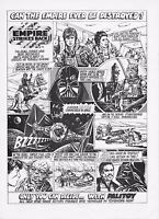 VINTAGE STAR WARS FIGURES ADVERTS PRINTS
