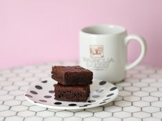 Glutenfrie brownies - Bakelyst Fudge Brownies, Gluten Free Cakes, Cake Cookies, Macarons, Cocoa, Sweet Tooth, Treats, Chocolate, Baking