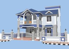 Home Plan Below 25 Lakhs Everyone Will Like House Wall Design, House Outside Design, 2 Storey House Design, Village House Design, Kerala House Design, Bungalow House Design, House Front Design, Best Small House Designs, Architect Design House