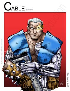 Cable - Universal Soldier (Marvel Comics) by Nickolas Lane