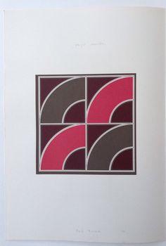 Red Quad / Black Segment by Gordon House, TATE