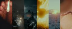 The opening shot of the six Middle-earth movies.