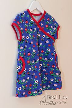 JNY colorful kids: Ladybug with faux wrap - Ottobre 4/2014