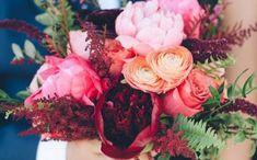 Decoração de Casamento : Paleta de Cores Marsala, Azul e Rosa