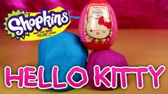 I open up some Kinder Play Doh Surprise eggs, these are Kinder Surprise chocolate eggs which have been opened, eaten and then wrapped in Play Doh. Lets see what cool surprise toys we get inside.#hellokitty #playdoh #surpriseeggs #cute #kawaii