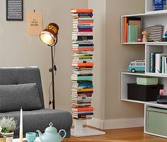Büchersäule  Höhe, 1,4 m Sockel 40x40x3 cm einzelne Schalen 13x18 cm (im Abstand von 16 cm)