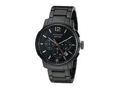 fancy bleecker stainless steel chrono by coach love this watch coach bleecker black