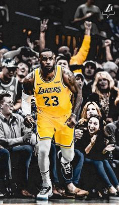 (notitle) - Lakers Live Here - Basketball Nba Pictures, Basketball Pictures, Love And Basketball, Lebron James Lakers, King Lebron James, King James, Lebron James Wallpapers, Nba Wallpapers, Sports Basketball