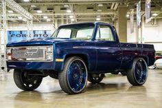 Forgiato Fest 2015 | Short Bed Chevy Pickup On 30 Inch Forgiato Wheels (Forgiato Fest)