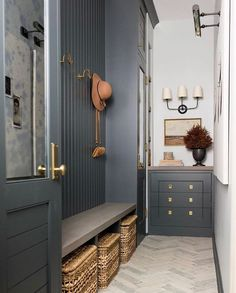 Whittney Parkinson Design is a full service interior design firm. Whittney specializes in commercial design, luxury construction projects and interior furnishing details. Mudroom Laundry Room, Mudroom Cabinets, Interior Exterior, My New Room, Inspired Homes, Interior Inspiration, Daily Inspiration, Color Inspiration, Beautiful Homes