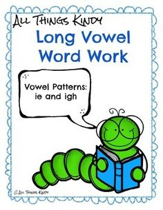 This is a FREEBIE from my Long Vowel I Pack. This pack features the vowel patterns ie and igh. Throughout the pack, you will find activities dedicated to these vowel teams independently, as well as put together.Activities with a 1 indicate that it is a mixed -ie and -igh activity.Activities with a 2 indicate that there are separate -ie and -igh optionsActivities with a 3 indicate that there is an -ie, -igh, and a mixed option.Spell it (3): Students will write the long i word on the space…
