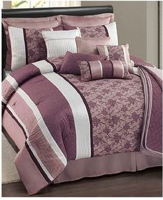 Sunham Ashley 12 Piece Cal King Comforter Set * ON SALE Check it Out