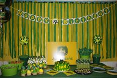 ~ John Deere Tractor Party Feature ~ | A to Zebra Celebrations